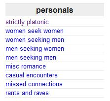 escort list craigslist personal encounter