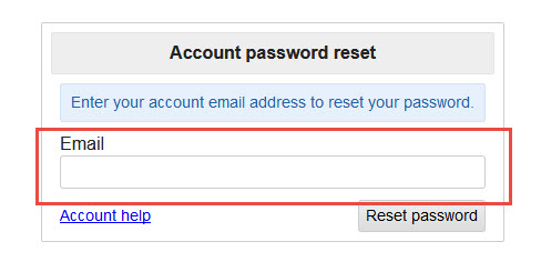 craigslist password recovery to reset your password