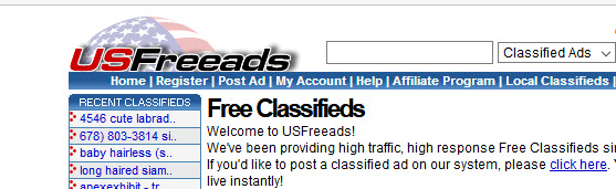 usfreeads screenshot