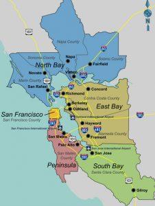 craigslist san francisco area map