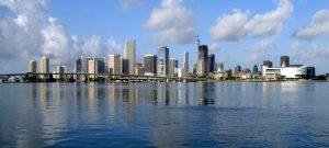 Miami skyline image