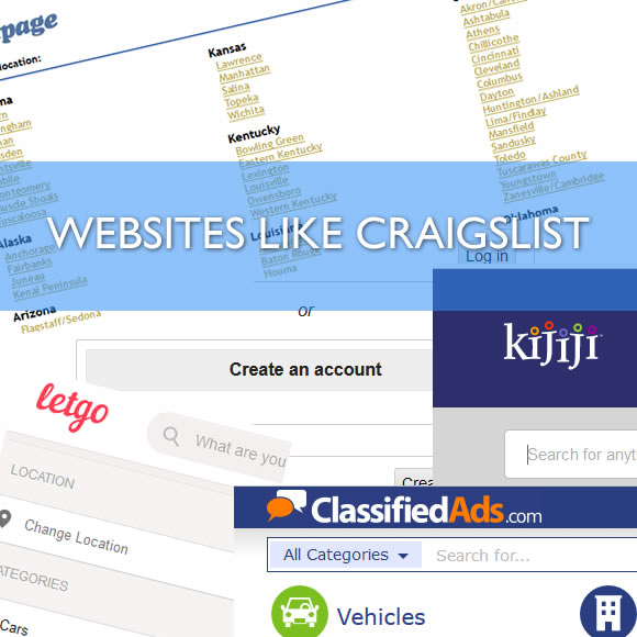 Websites Like Craigslist - Sites Like Craigslist - Craigslist com