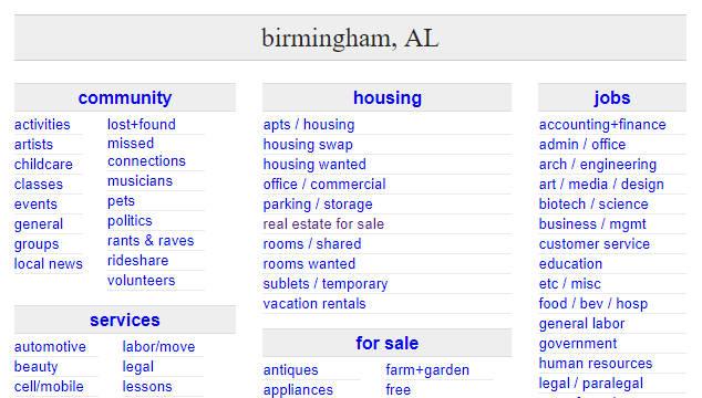 Craigslist Birmingham - Craigslist Birmingham AL